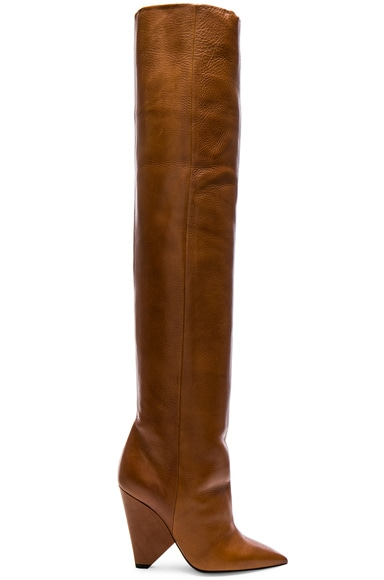 Leather Niki Thigh High Boots