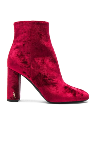 Velvet Loulou Pin Boots