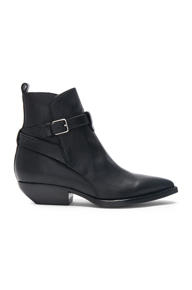 Leather Theo Jodhpur Boots