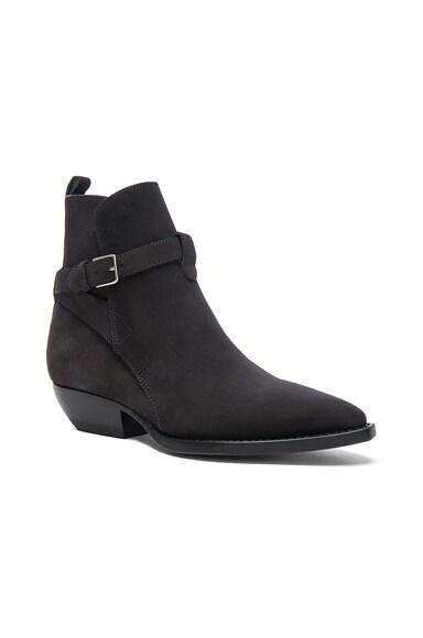 Suede Theo Jodhpur Boots