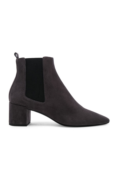 Loulou Suede Chelsea Boots