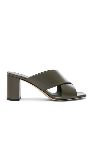 Leather Loulou Mules