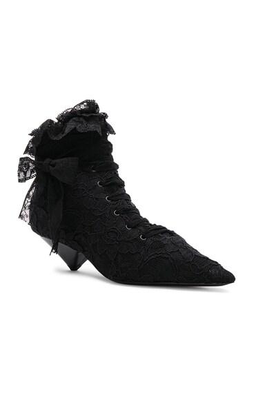 Lace Blaze Ankle Boots