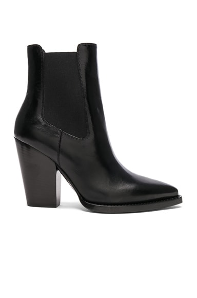 Leather Theo Heeled Chelsea Boots