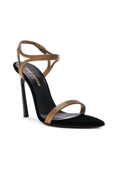 Talitha Metallic Leather Sandals