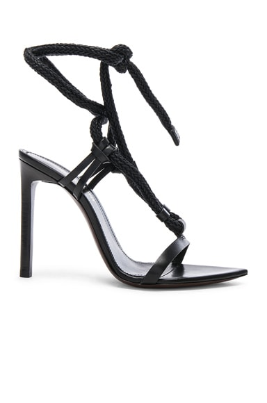 Majorelle Leather Strappy Sandals