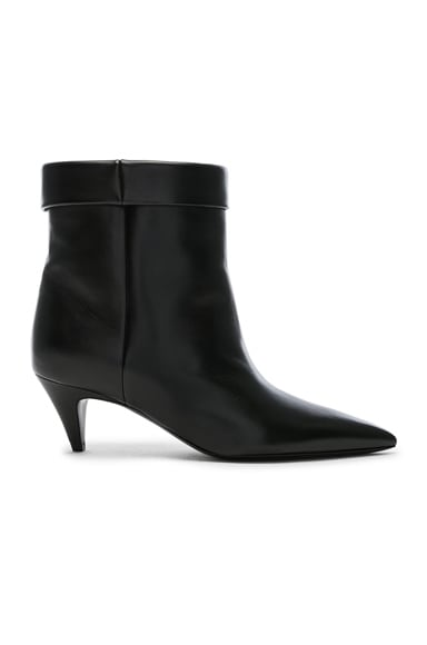 Charlotte Kitten Heel Ankle Boots