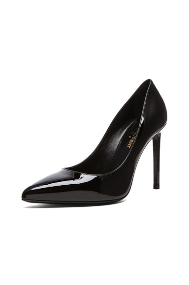 Patent Leather Paris Skinny Pumps