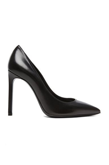 Paris Calfskin Leather Pumps
