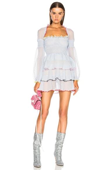 Evian Ruffle Dress