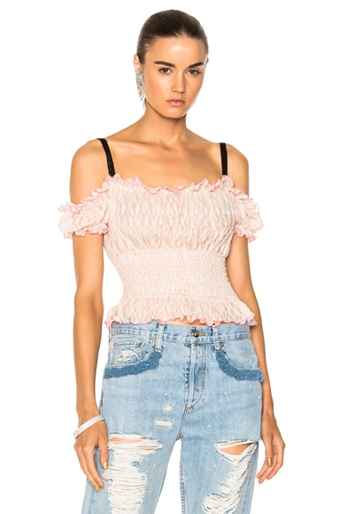 for FWRD Cropped Lacey Top