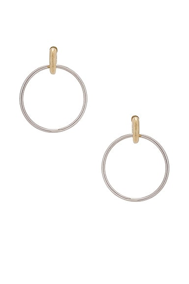 Casseus Hoop Earrings