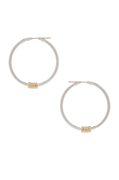 Pegasus Hoop Earrings