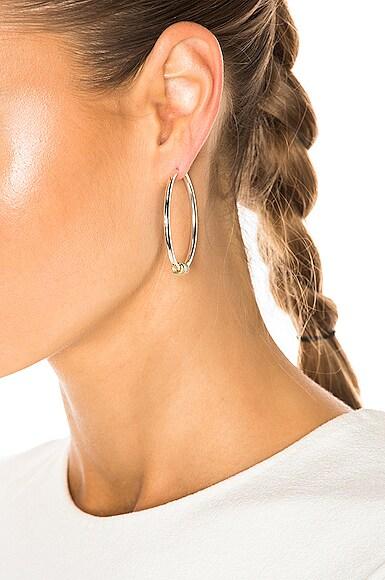 Pegasus Hoop Earrings
