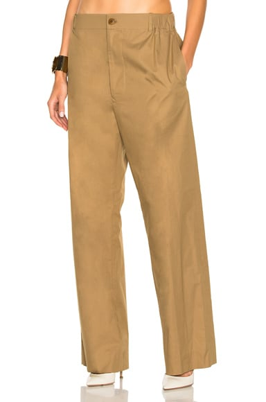 Stella McCartney Trousers in Mushroom