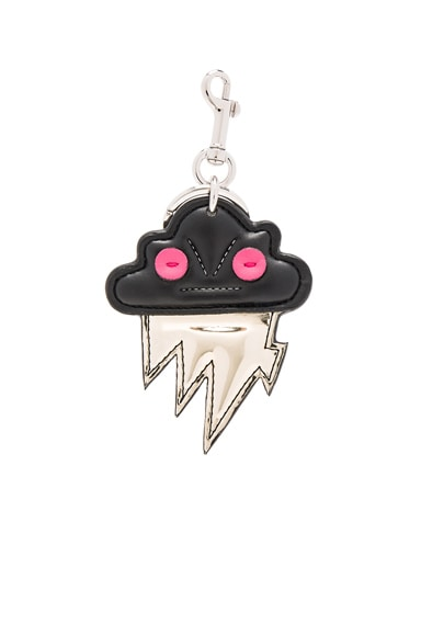 Lightning Cloud Keychain