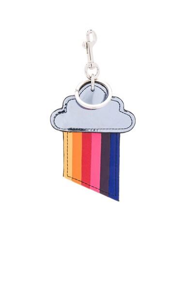 Rainbow Cloud Keychain
