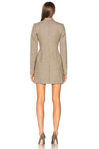 Cass Check Tailoring Mini Dress