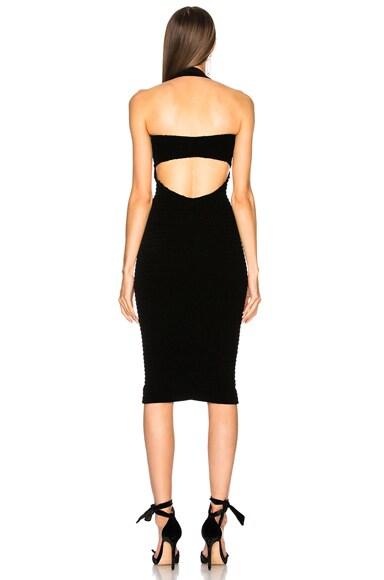 Olympia Fluid Velvet Midi Dress