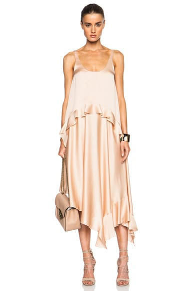 Stella McCartney Long Dress in Powder