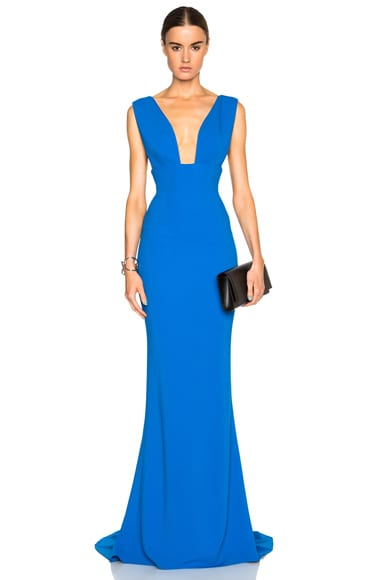 Stella McCartney Kimberly Dress in Bright Blue