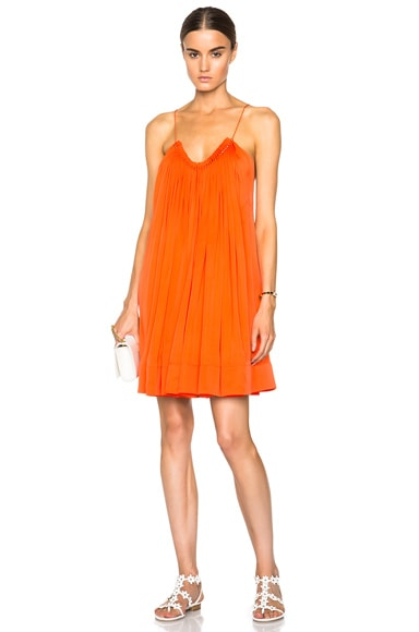 Stella McCartney Judy Tank Dress in Poppy