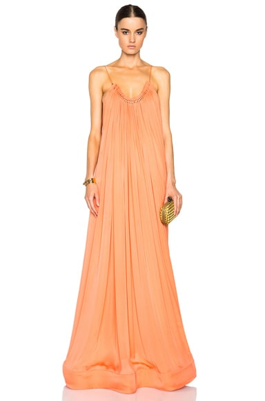 Stella McCartney Long Dress in Sugar Candy