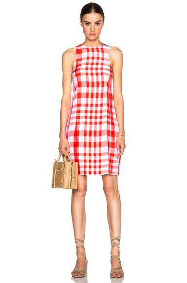 Stella McCartney Benedicte Dress in Chili Red