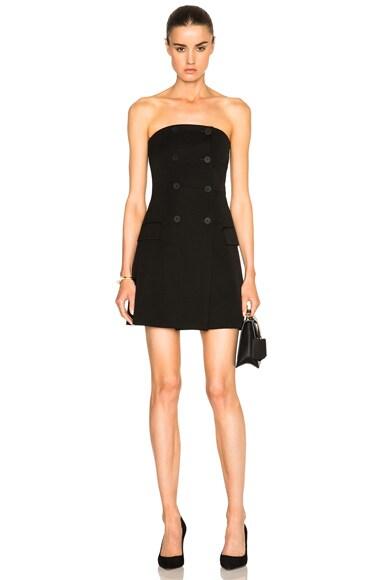Stella McCartney Japanese Tailoring Lili Dress in Black