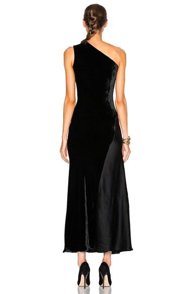 Double Satin Dress