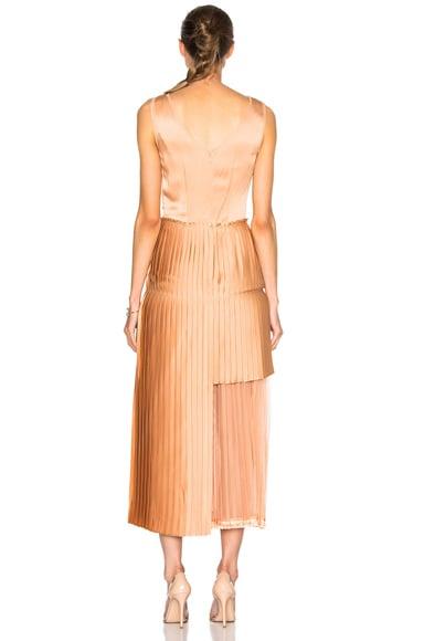 Sable Satin Dress