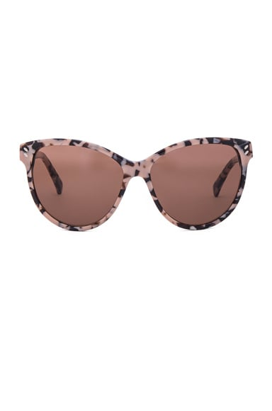Stella McCartney Cat Eye Sunglasses in Pink Havana