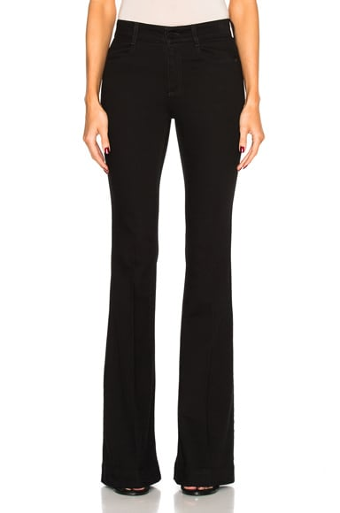 Stella McCartney 70's Flare Denim in Black