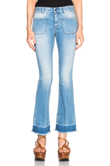 Stella McCartney Skinny Kick in Light Blue