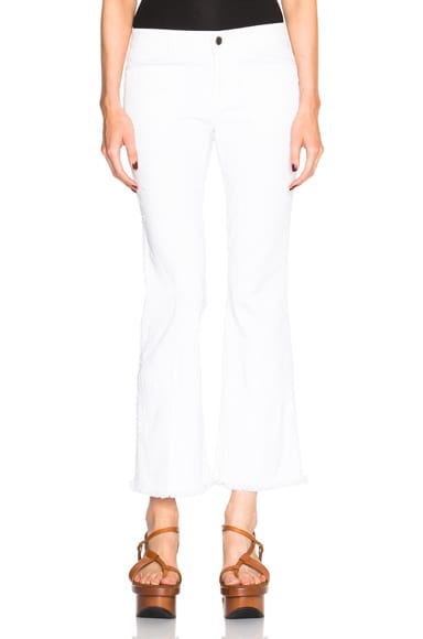 Stella McCartney Skinny Kick in White