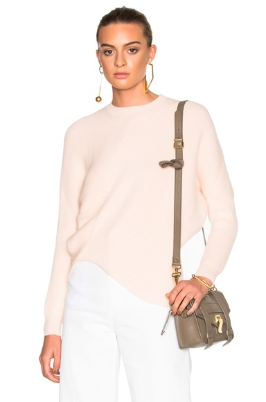 Stella McCartney Clean Ribs Sweater in Powder