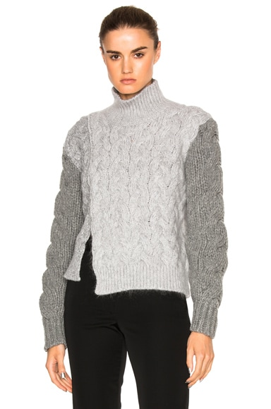 Chunky Stitch Turtleneck
