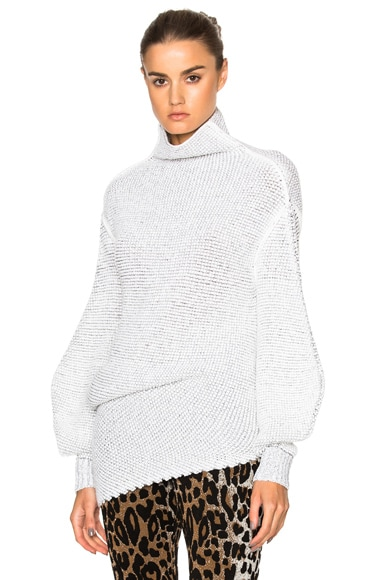 Stella McCartney Speckle Jumper in Cream