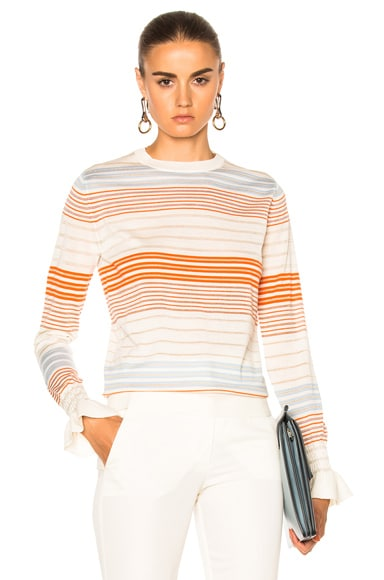 Stella McCartney Crewneck Jumper in Multi