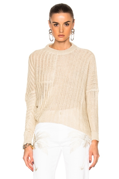 Stella McCartney Chunky Stitch Sweater in Natural