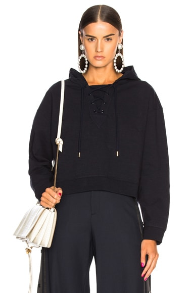 Sports Graphic Hooded Sweatshirt