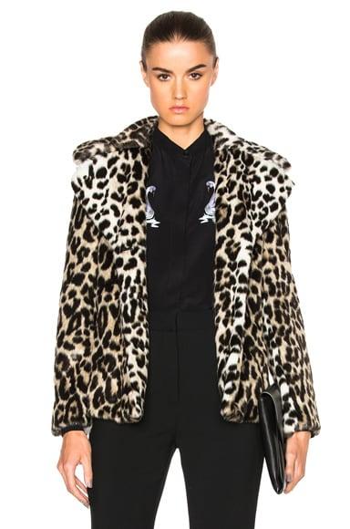 Stella McCartney Alter Coat in Leopard