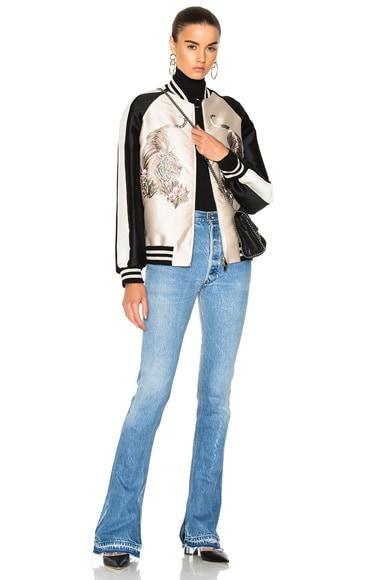 Lorinda Tiger Embroidered Jacket