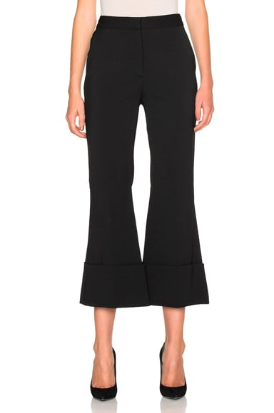 Stella McCartney Cropped Trousers in Black
