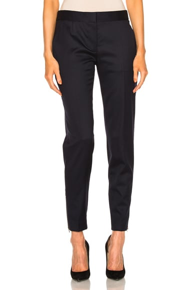 Stella McCartney Vivian Tailored Trousers in Navy
