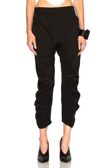 Stella McCartney Twill Pants in Black