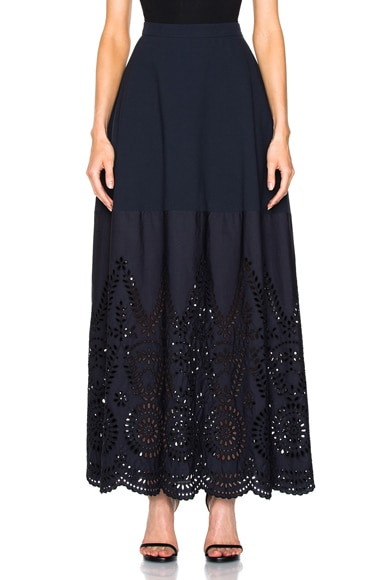 Stella McCartney Penelope Skirt in Navy
