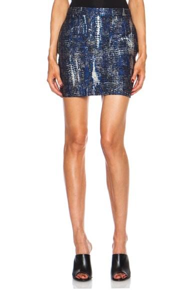 Becca Mini Poly-Blend Skirt