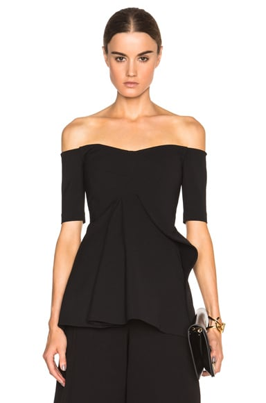 Stella McCartney Sabrina Top in Black