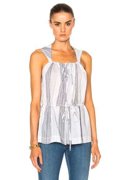 Stella McCartney Printed Sleeveless Top in Ink Multi